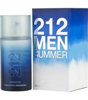 CAROLINA HERRERA 212 MEN SUMMER EDT 100ML