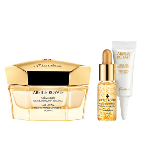 GUERLAIN ABEILLE ROYALE DAY CREAM + YOUTH WATERY OIL + EYE CREAM