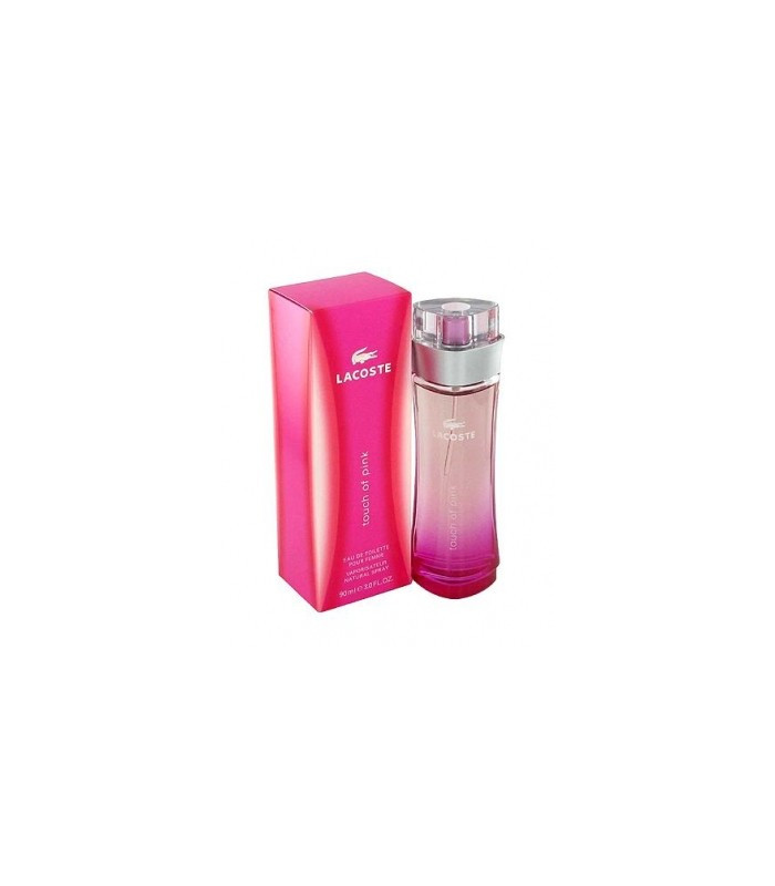 LACOSTE W TOUCH OF PINK EDTS 90ML